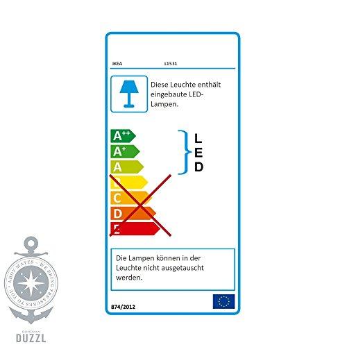 Ikea Besta Regal mit Surte LED Tür - 3