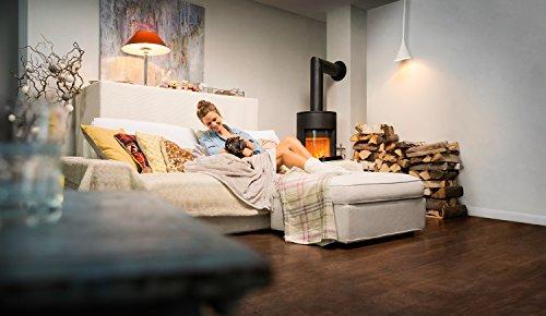 Osram Lightify Classic A LED-Glühlampe, 10 Watt, E27, klar, Dimmbar, Warmweiß 2700K, Kompatibel mit Alexa - 5