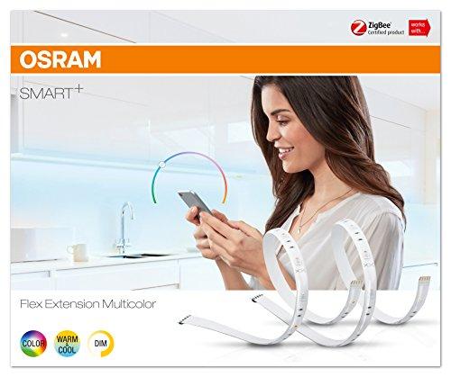 Osram Smart+ ZigBee RGB LED Strip Erweiterung, warmweiß, tageslicht (2000 K - 6500 K), dimmbar, Länge 2 x 60 cm, Alexa kompatibel - 4