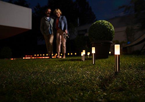 Osram Smart+ ZigBee LED Außen-/Gartenleuchte, warmweiß bis tageslicht, dimmbar, RGB Farbwechsel, 5 Spots, Alexa kompatibel - 6