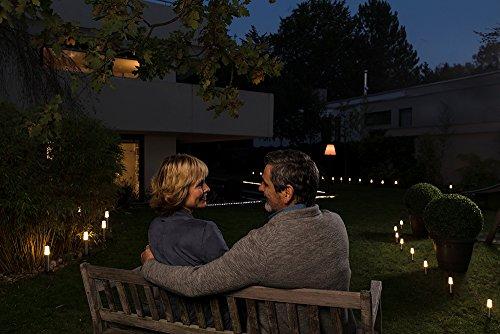 Osram Smart+ ZigBee LED Außen-/Gartenleuchte, warmweiß bis tageslicht, dimmbar, RGB Farbwechsel, 5 Spots, Alexa kompatibel - 7