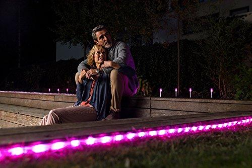 Osram Smart+ ZigBee LED Außen-/Gartenleuchte, warmweiß bis tageslicht, dimmbar, RGB Farbwechsel, 5 Spots, Alexa kompatibel - 8