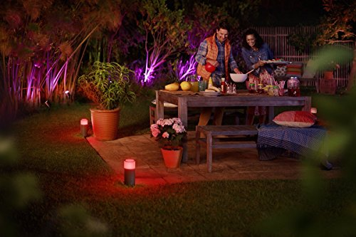 Philips Hue Calla LED Sockelleuchte Outdoor - 6