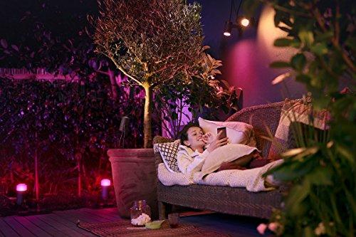 Philips Hue Calla LED Sockelleuchte Outdoor - 7