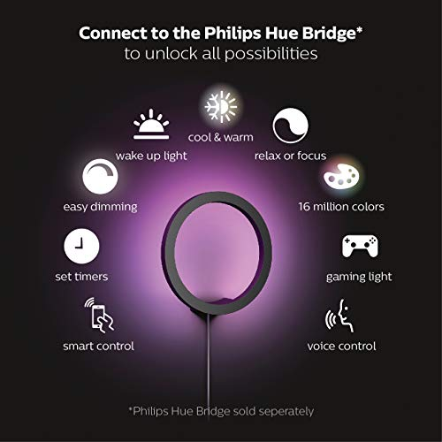 Philips Hue Sana LED Wandleuchte - 4