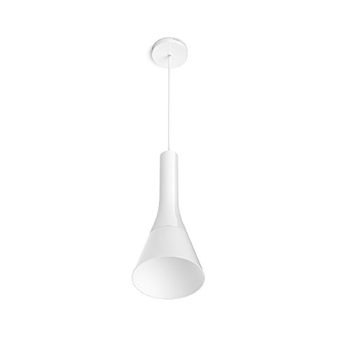 Philips Hue Explore LED Pendelleuchte, inkl. Dimmschalter, dimmbar, alle Weißschattierungen, steuerbar via App, kompatibel mit Amazon Alexa (Echo, Echo Dot), weiß - 2