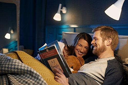 Philips Hue Explore LED Wandleuchte, inkl. Dimmschalter, dimmbar, alle Weißschattierungen, steuerbar via App, kompatibel mit Amazon Alexa (Echo, Echo Dot), weiß - 4