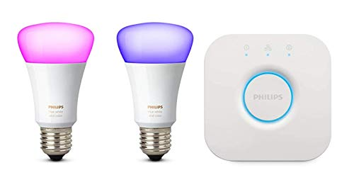 Philips Hue White & Color Ambiance Starter Kit (2 Lampen)