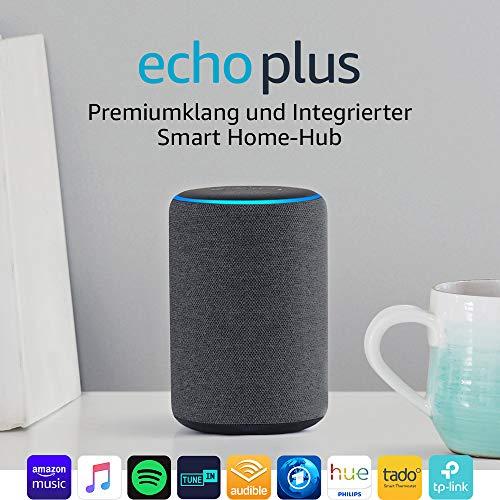Amazon Echo Plus mit integriertem Smart Home Hub (2. Generation) - 2