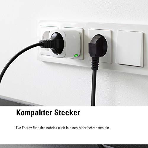 Elgato Eve Energy Kabelloser Stromsensor & Schalter mit Apple HomeKit-Unterstützung - 3