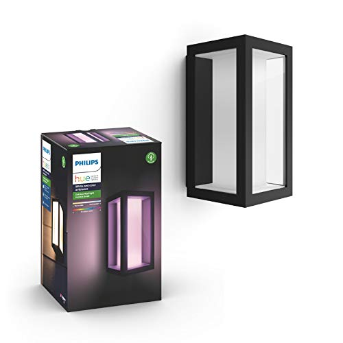 Philips Hue Impress LED Wandleuchte Schmal Outdoor