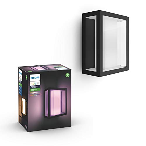 Philips Hue Impress LED Wandleuchte Breit Outdoor