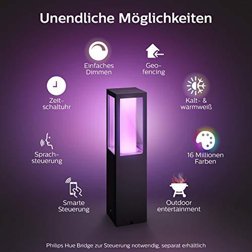 Philips Hue Impress LED Sockelleuchte Outdoor - 2
