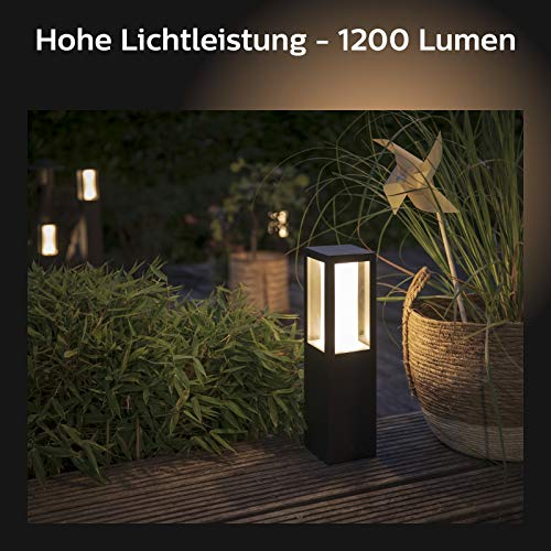 Philips Hue Impress LED Sockelleuchte Outdoor - 3