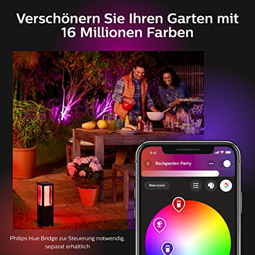 Philips Hue Impress LED Sockelleuchte Outdoor - 7
