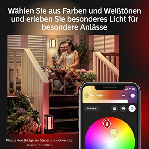 Philips Hue Impress LED Sockelleuchte Outdoor - 8