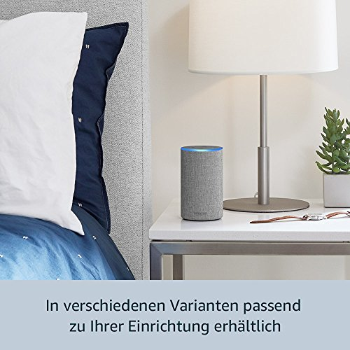 Das neue Amazon Echo (2. Generation), Anthrazit Stoff - 5