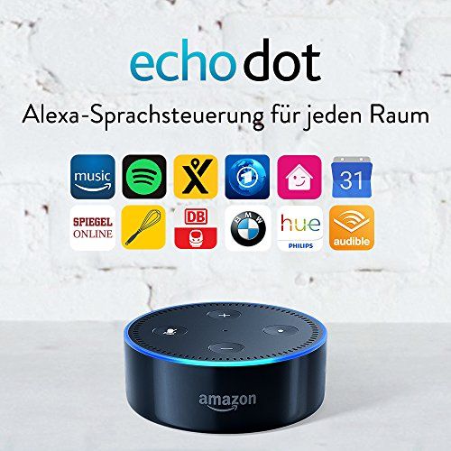 Amazon Echo Dot (2. Generation), Schwarz - 2