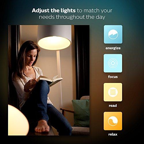 Philips Hue White & Color Ambiance E27 LED Lampe - 10