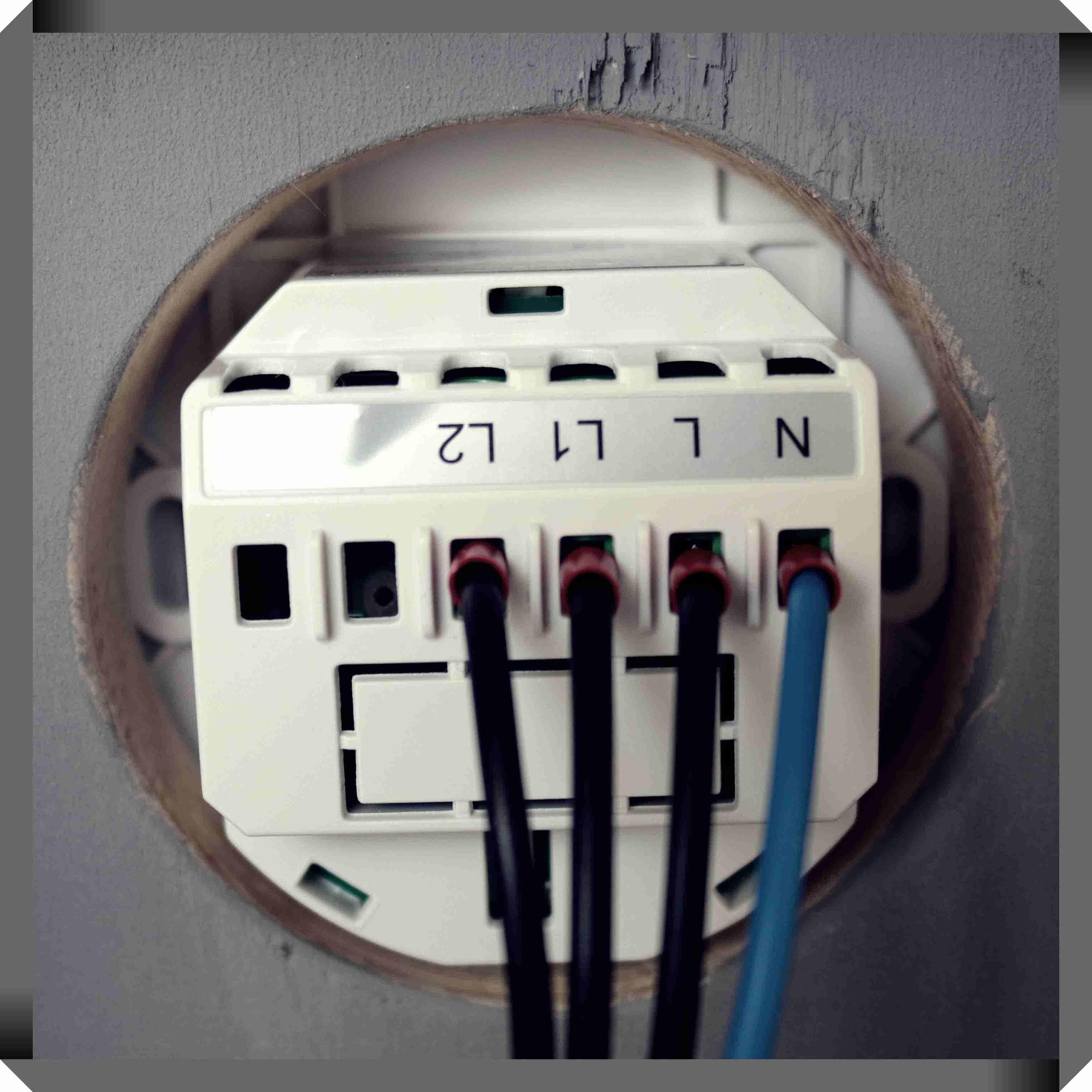 Wlan Lichtschalter installieren - WLAN Lichtschalter einbauen ...