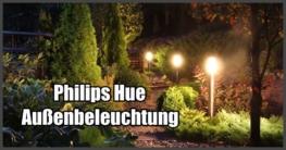 Philips Hue Außenbeleuchtung
