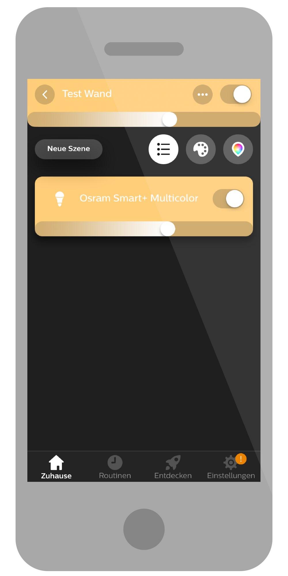 osram smart+ lampe hue